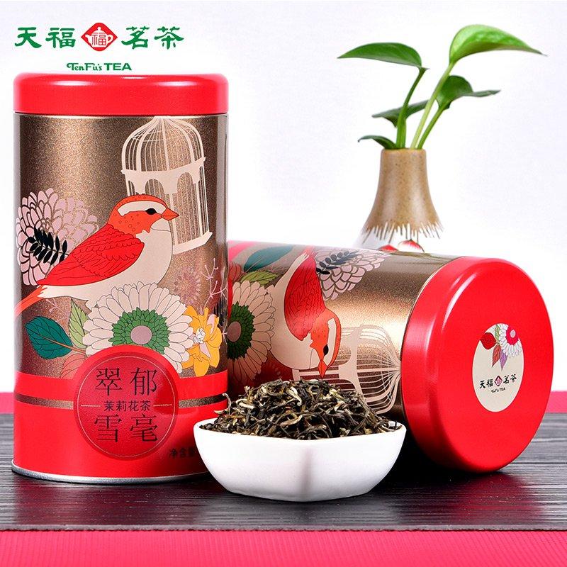 Свойства зеленого чая с жасмином